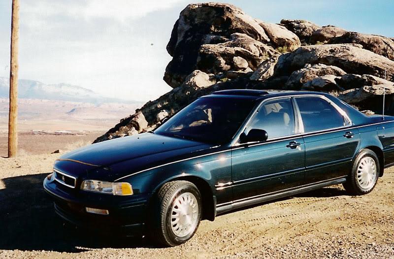 Friday Flashback:  Mom's 1993 Acura Legend L Sedan (6/6)