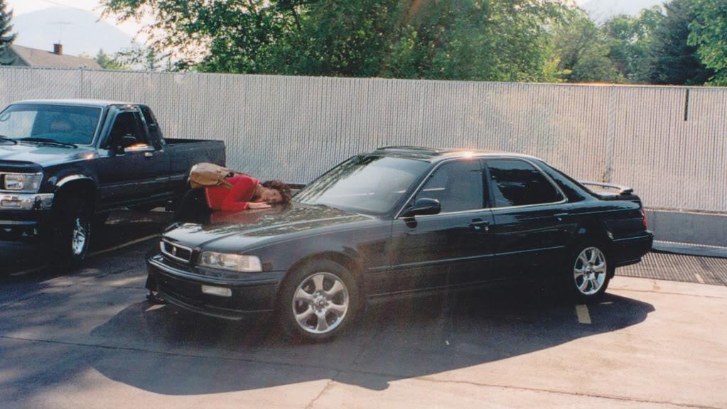 Friday Flashback Mom S 1993 Acura Legend L Sedan Drivetofive