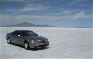 Bonneville_Salt_Flats_Acura_Legend_1