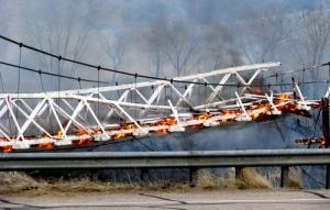 deweybridgeburning