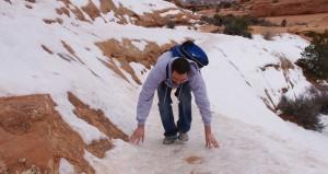 tyson_climbing_arches_ice