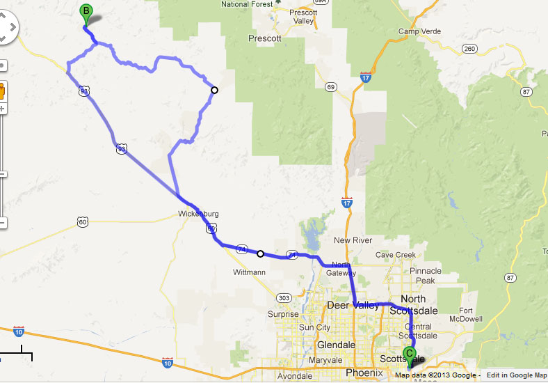 Bagdad Az Map Submited Images