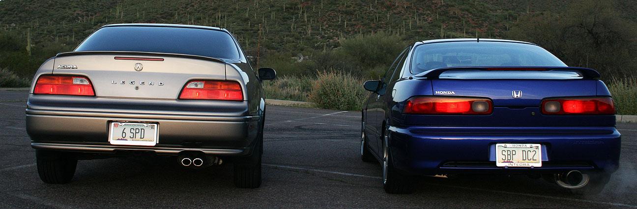 Acura Legend + Integra: Sunday Morning Photoshoot ...
