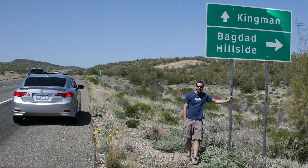 Acura ILX Trip: Bagdad, Arizona | drivetofive
