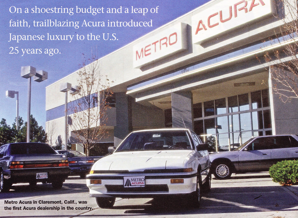 The man at the helm of acura s public relations