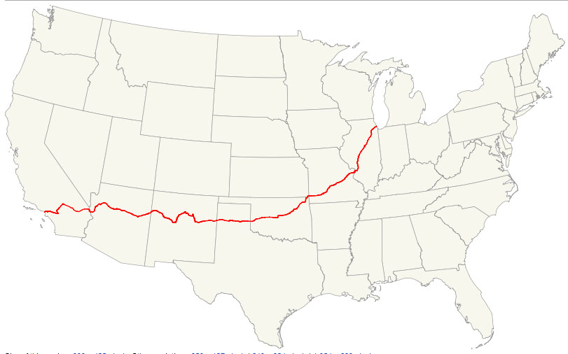 Acura ILX Route 66 Tour: Kingman to Seligman, Arizona (5/6)