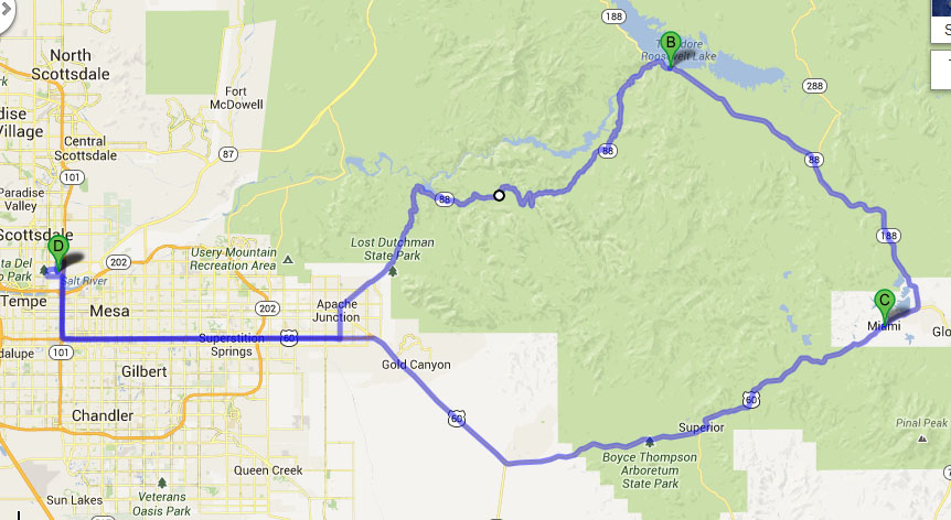 Ilx Sunday Drive On The Apache Trail In Arizona Drivetofive