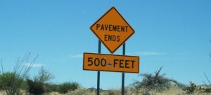 pavement_ends