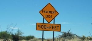 pavement_ends