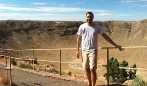 tyson_at_meteor_crater