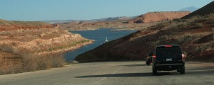 driving_down_ferry_ramp_lake_powell