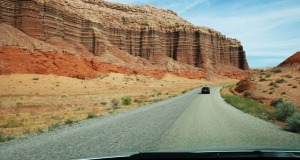 following_ryan_on_burr_trail_utah
