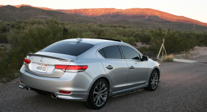 ILX rear sunset2logo