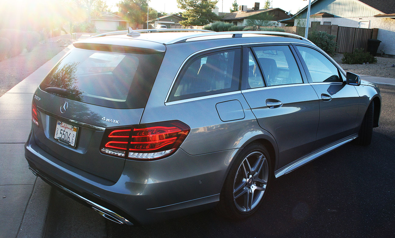 2014 mercedes benz e350 4matic wagon test review car for Mercedes benz g wagon review