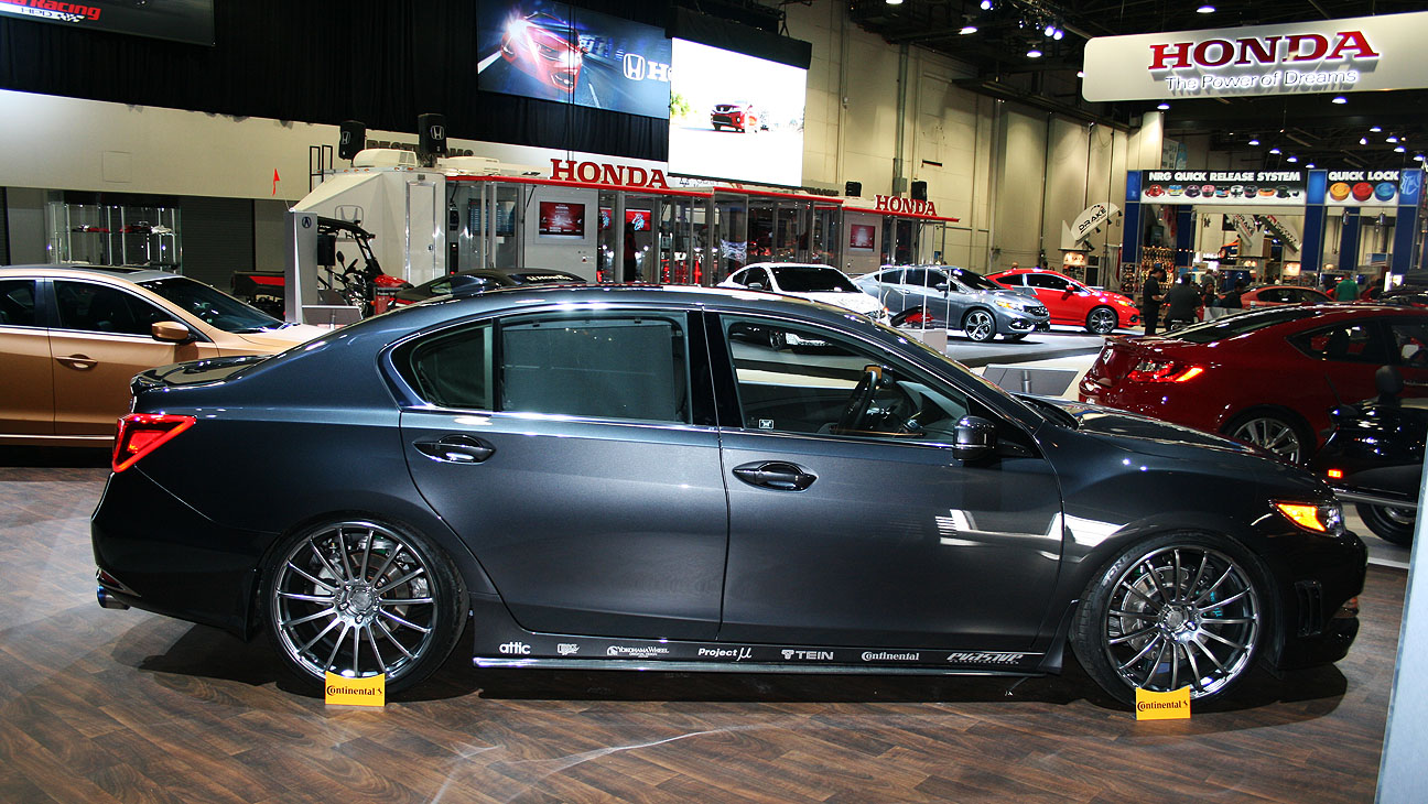 RLX with aftermarket wheels - AcuraZine - Acura Enthusiast Community