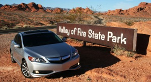 acura_ilx_at_entrance_valley_of_fire
