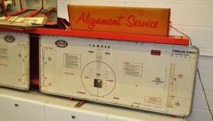 alignment check machine
