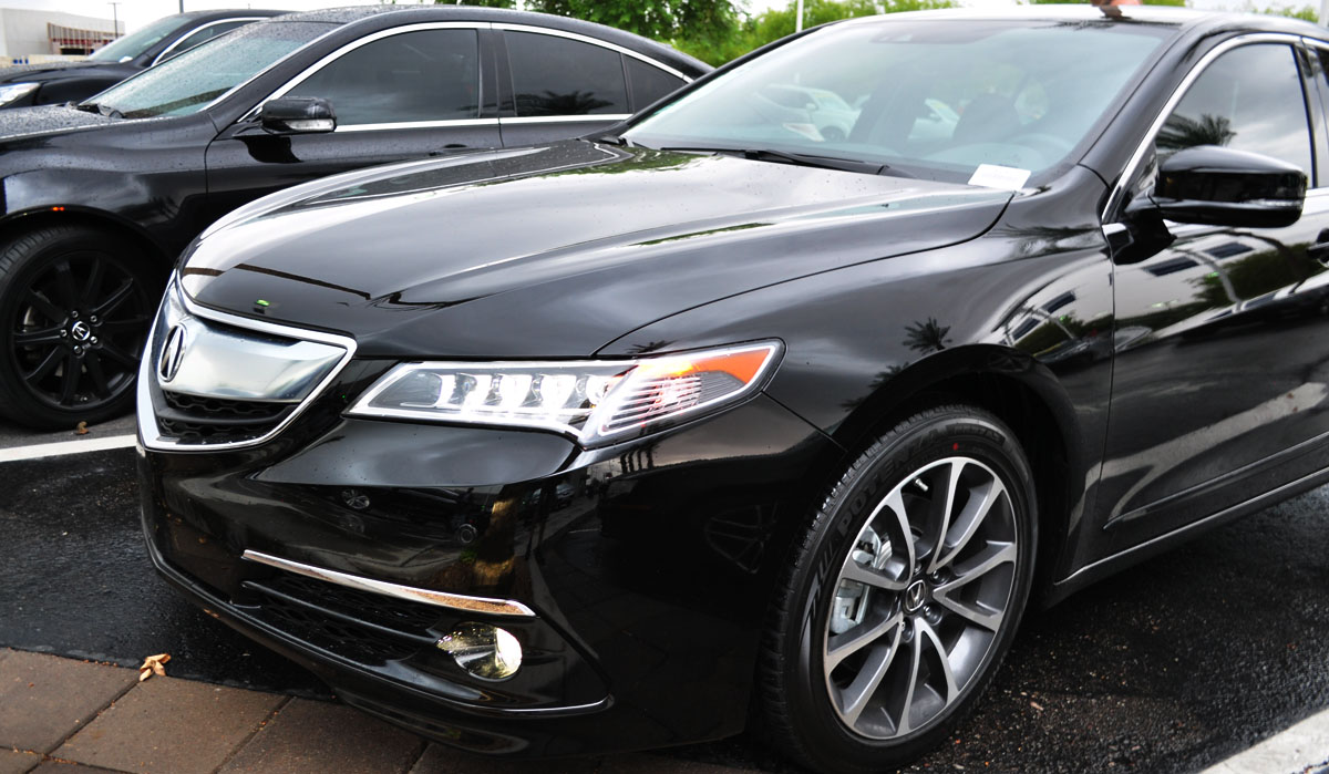 test drive 2015 acura tlx v6 drivetofive. Black Bedroom Furniture Sets. Home Design Ideas