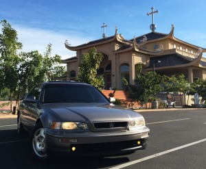 sedan_at_church