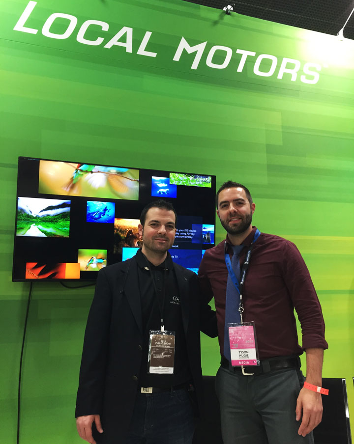 Detroit 2015 north american international auto show for Tyson motors service hours