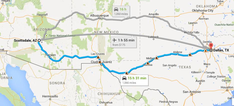 Road Trip to Dallas Part 1: Ten Roadside Attractions ... Dallas Attractions Map on