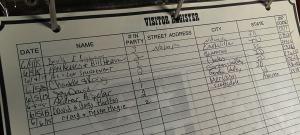 custer_visitor_register