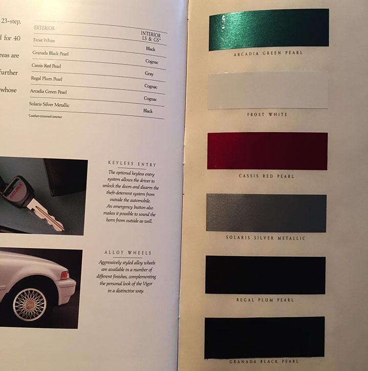 New Addition: 1994 Acura Vigor GS 5-Speed