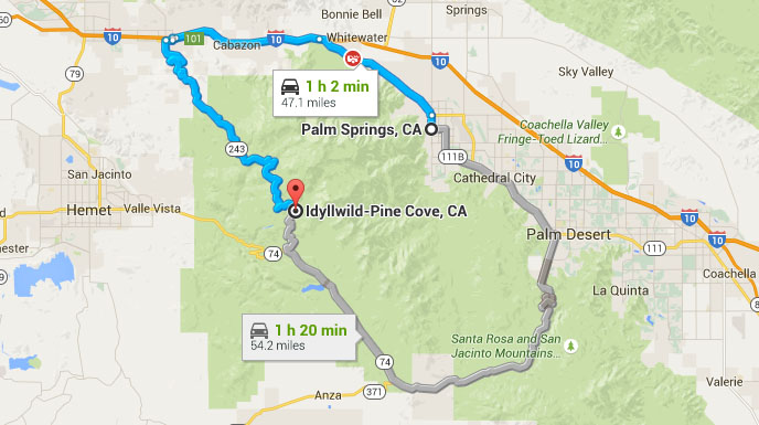 Saturday Nsxpo Planning Drive Palm Springs To Idyllwild