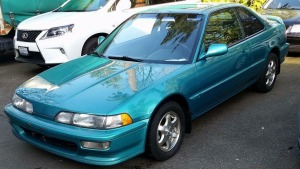 New Acquisition Aztec Green 1992 Acura Integra GS R