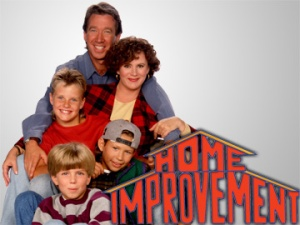 ABC--FILE PHOTO--HOME IMPROVEMENT-- Starring in the ABC Televison Network's hit comedy series, HOME IMPROVEMENT, are (top to bottom) Tim Allen, Patricia Richardson, Zachary Ty Bryan, Jonathan Taylor Thomas and Taran Smith.