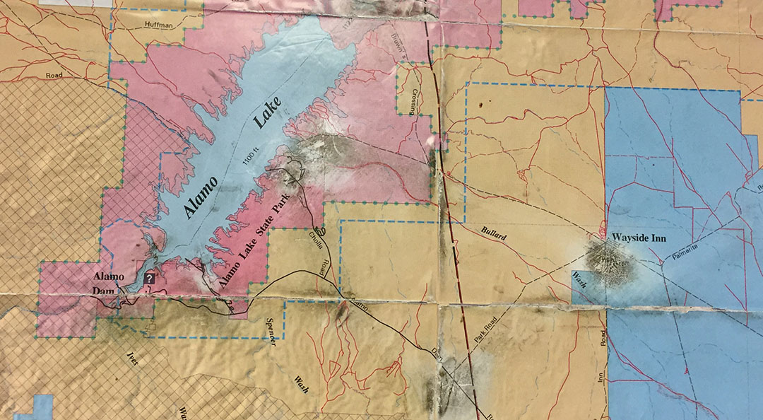 Saturday Drive Remember The Alamo Lake Arizona