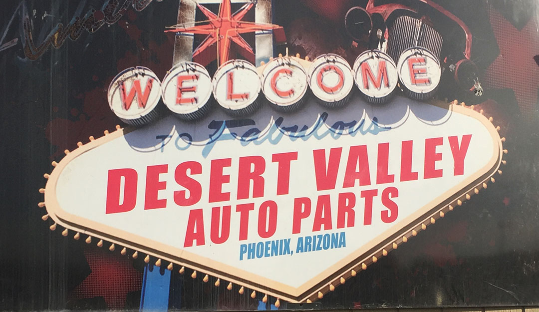 Desert Valley Auto Parts Junkyard Trip, a Video