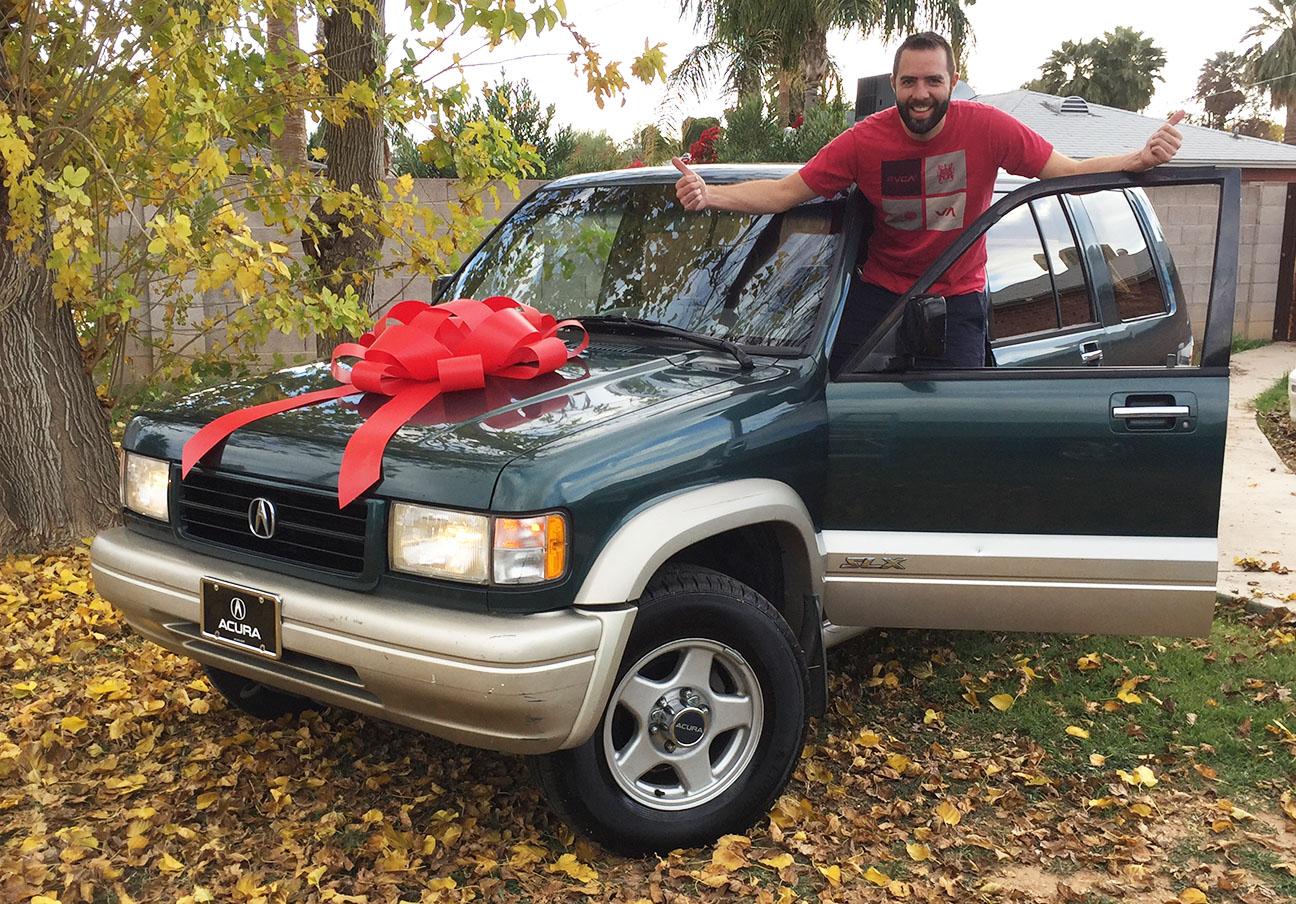 I'm Officially Insane: Acquiring A (Cheap) 1997 Acura SLX