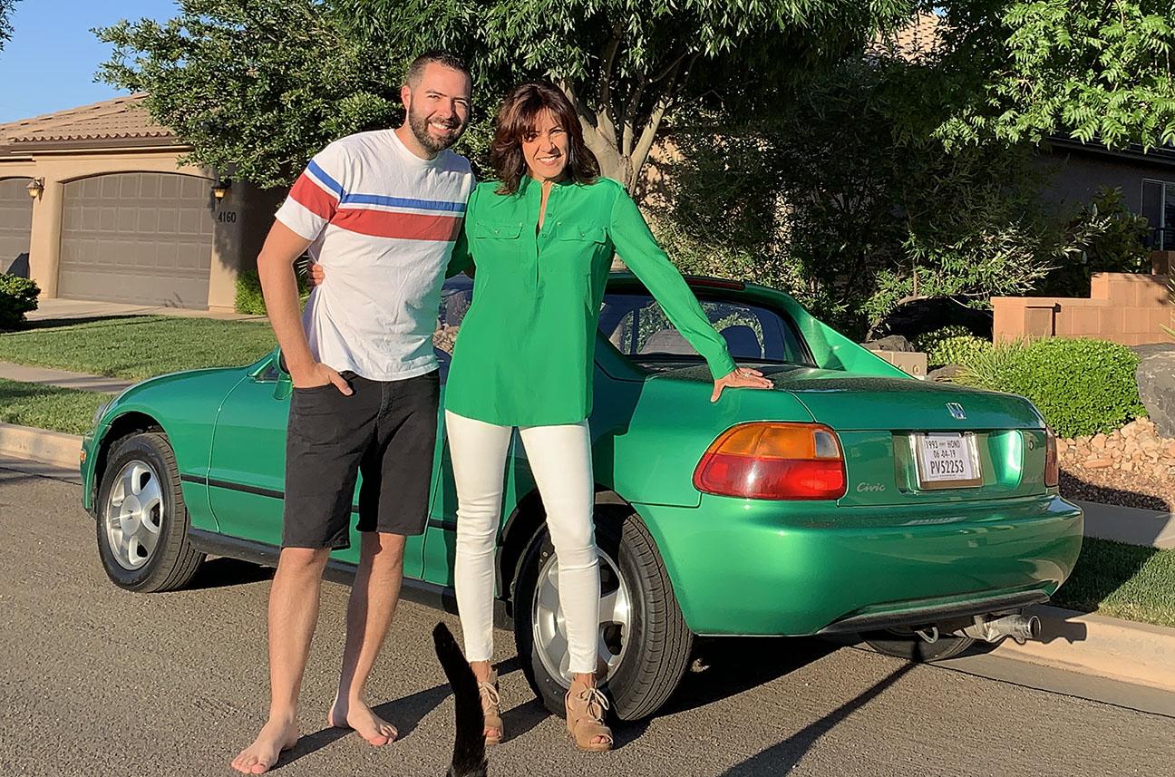 """Pocket Rocket: Introducing the """"Samba Green"""" 9 Honda Civic del"""